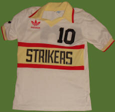 Strikers 81-83 Home Jersey Teofilo Cubillas