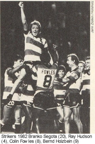 NASL Soccer Ft. Lauderdale Strikers 82 Road Back Colin Fowles (2)