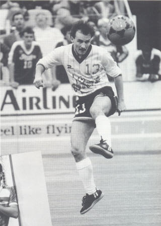 MISL Minnesota Strikers 1985-86 Road Stan Cummins 3