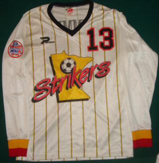 Strikers 87-88 Road Jersey Stan Cummins