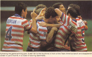 NASL Soccer Team America 83 Road Back Jeff Durgan