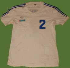 NASL Soccer Team Hawaii 77 Home Jersey Chris Carenza