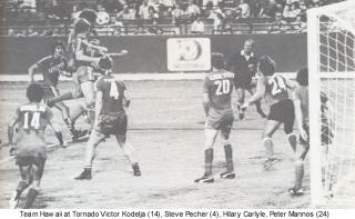 NASL Soccer Team Hawaii 77 Road Back Victor Kodelja, Hilary Carlyle