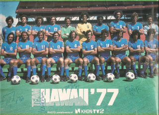 NASL Soccer Team Hawaii 77 Road Team.JPG