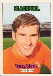 Blackpool 70-71 Head Terry Alcock