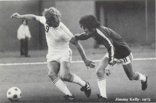 NASL Soccer Portland Timbers 75 Road Jimmy Kelly