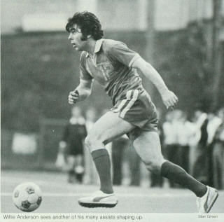 NASL Soccer Portland Timbers 78 Road Willie Anderson 3