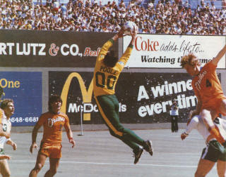 Portland Timbers 1979 Goalie Back Mick Poole, Drillers