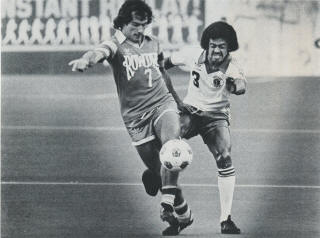 Portland Timbers 1980 Clive Charles, Rowdies