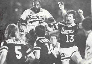 NASL Soccer Portland Timbers 81 Home Clyde Best Boomers