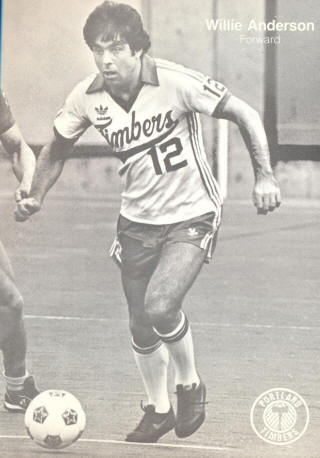 NASL Soccer Portland Timbers 81 Home Willie Anderson