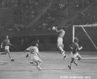 NASL Soccer Portland Timbers 75 home back willie anderson