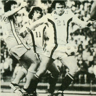 Vancouver Whitecaps 1978 Home Bob Campbell, Kevin Hector, 7-27-78