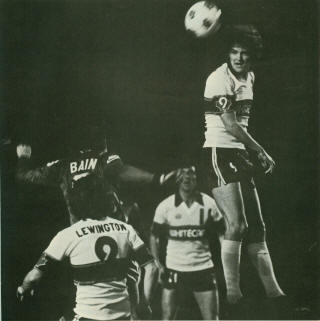 NASL Soccer Vancouver Whitecaps 79 Home Back Ray Lewington, Whymark, 4-21-79