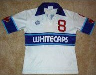 NASL Soccer Vancouver Whitecaps 80-81 Home Jersey Roy Hankin