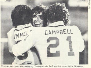 NASL Soccer Vancouver Whitecaps 78 home back bob cambell