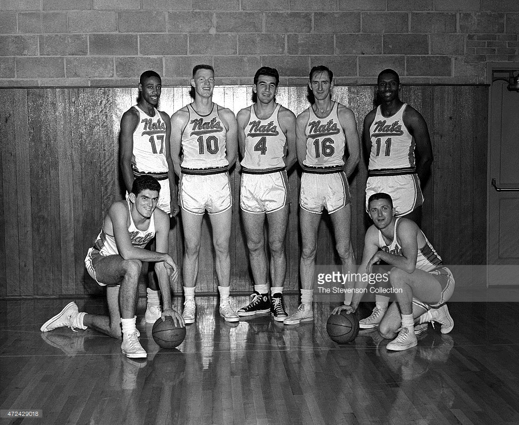Abl. Abl. 1952 53 Syracuse Nationals Nba Basketball 8x10 Team Photo Cervi eaeec83e2